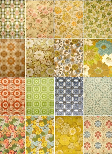 vintage floral wallpaper. Vintage Wallpapers offers a